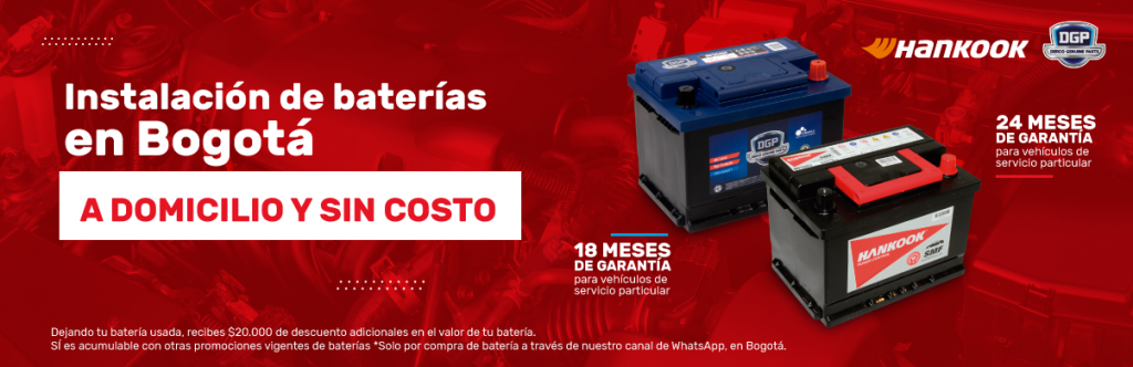 envio gratis de baterias para carros